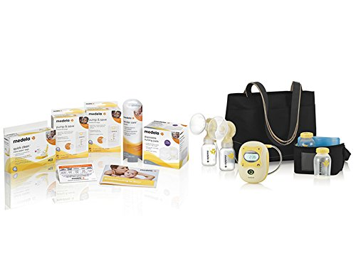 Medela Freestyle Mobile Double Breast Pump, Lactation Support from 24/7 LC, Hands Free Double Breastpump with Complete Solution Set, Compact and Lightweight for Easy Mobility and Efficient Pumping