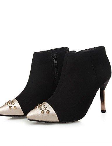 5 Zapatos Ggx Robusto Trabajo tacones Y Rojo tacones tacón Mujer Uk8 boda Cn36 Cn43 Uk4 semicuero Red Vestido us10 negro 5 Eu36 Red Eu42 us6 Oficina De wRdAIqrxw