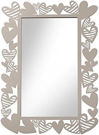 Brandani 54716 specchio Batticuore in metallo