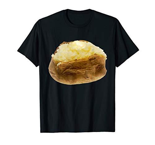 Baked Potato Halloween Costume (Baked Potato T-Shirt Jacket Fluffy Roasted Loaded)
