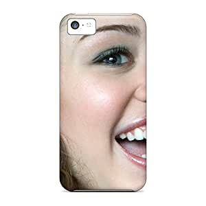 Tpu Case Cover Compatible For Iphone 5c/ Hot Case/ Pop Princess Miley Cyrus