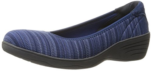 Skechers Womens Kiss Secret Wedge Pump Navy
