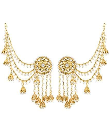 Buy Aadita Fashion Jewellery Royal Bahubali Alloy Gold Plated