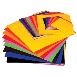 gummed paper squares in assorted colours f22 amazon co uk toys games