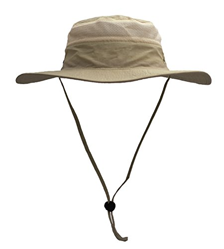 (Mazo Camping Hat Outdoor Quick-dry Hat Sun Hat Fishing Cap(Dark Khaki))