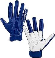 Grip Boost Boys Peace, Shaka, and Hook 'Em Youth Football Gloves Pro E
