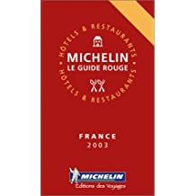 Michelin the Red Guide France 2003