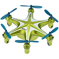Squadron Products Tiny Headless Flying Quadcopter, Green
