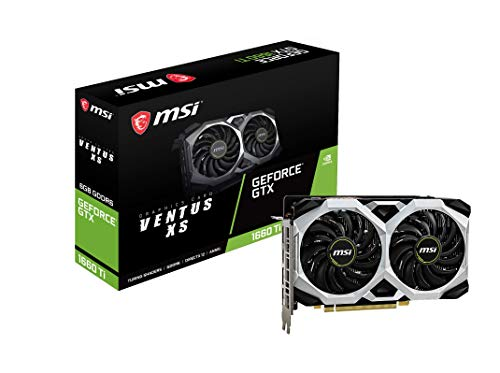 MSI GeForce GTX 1660 Ti VENTUS XS 6G OC 6GB GDDR6 Grafikkarte – HDMI/3x DisplayPort