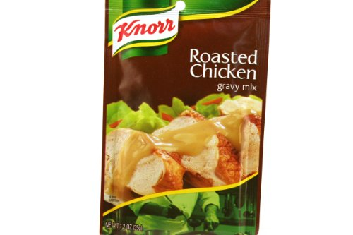 Gravy Chicken Mix Roasted (Knorr, Roasted Chicken Gravy Mix - 1.2 Ounce (Pack of 6))