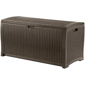 Amazon.com : Keter Westwood 150 Gallon Resin Large Deck ...