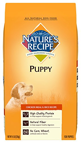 UPC 730521530488, Nature's Recipe Puppy Chicken Meal & Rice Recipe Dry Dog Food, 4.5-Pound