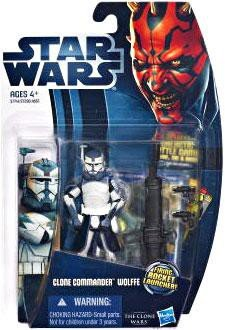 Hasbro Star Wars Clone Wars 2012 Clone Commander Wolffe Action Figure CW17 ()