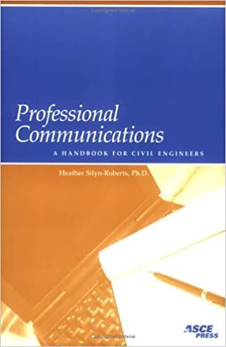 Professional communications a handbook for civil engineers professional communications a handbook for civil engineers fandeluxe Images