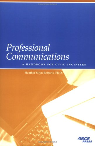 Professional Communications: A Handbook for Civil Engineers