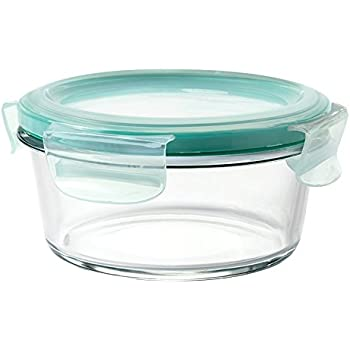 OXO Good Grips 2 Cup Smart Seal Leakproof Glass Round Food Storage Container