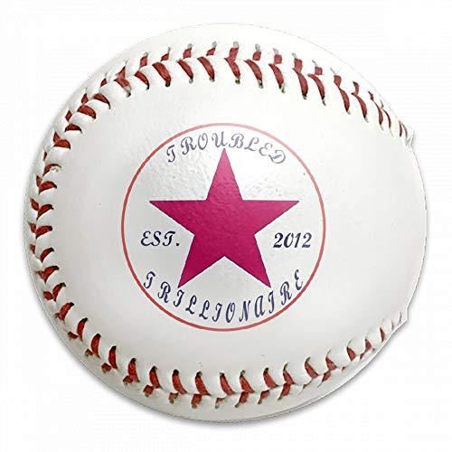 FFMMdog Personalized Custom Converse Style Troubled Trillionaire Baseball -