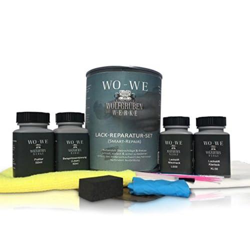 Retouche de Peinture Touch Up pour VOLKSWAGEN L6K GELBGRUEN Contre les Rayures / Couleur de Voiture low-cost