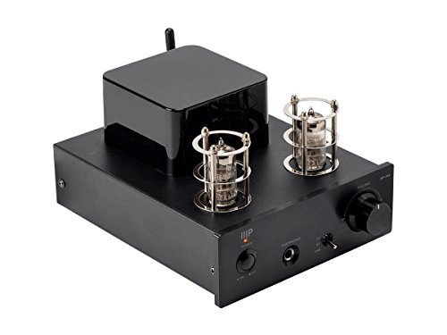 Monoprice Stereo Tube Headphone Amp with 24-bit/96kHz USB DAC, Bluetooth, and Preamp Out - (116154)