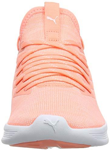De Zapatillas Evoknit White Peach bright Mujer Running Flash Ignite puma Naranja Wn's 15 Puma Para qI4XwR