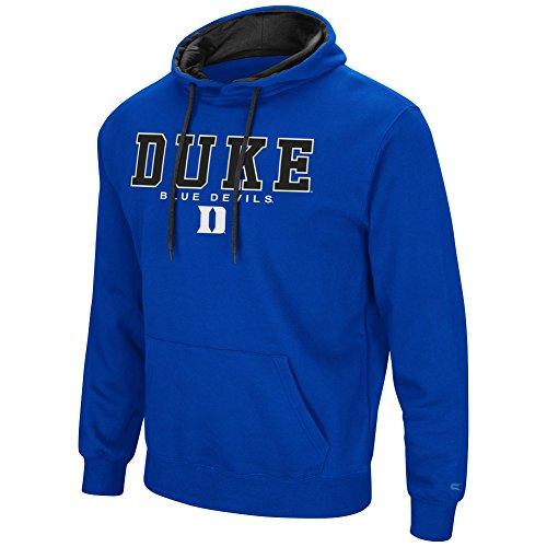 Colosseum Duke Blue Devils Men's Zone III Pullover Hooded Sweatshirt X-Large