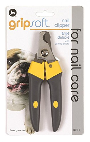 JW Pet Company GripSoft Deluxe Nail Clipper for Dogs, Large DOSA2 65105