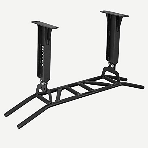 Ceiling Mount Chin Up Bar - Valor Fitness CHN-Multi Wall/Ceiling Pull Up Bar with Multi Grip