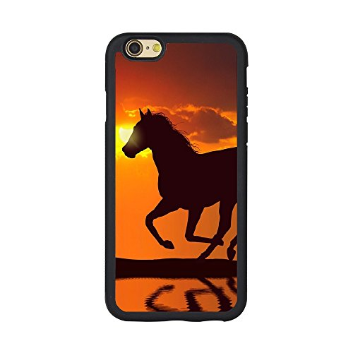 (Horse iPhone Case iPhone 5/5s/SE, 6/6s, 6P,7/8,7P/8P,Horse Phone Cases Anti-Scratch Horse Pattern Back Cover [ Andenley (iPhone 6/6s))