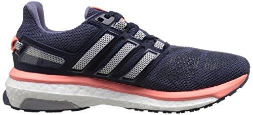 Adidas Womens Energy Boost 3 Scarpe Da Corsa, Leggere, Confortevoli E Flessibili In Tinta Viola / Bianco / Giallo Sole Splendente