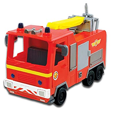 Character Options Fireman Sam Jupiter Vehicle: Toys & Games
