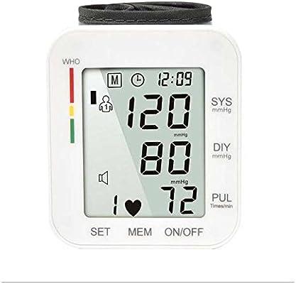 JIN K507 clínica – Tensiómetro automático portátil con pantalla LCD blanco