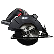 PORTER-CABLE PC186CS 18-Volt Cordless 6-1/2-Inch Circular-Saw Bare-Tool (Tool Only, No Battery)