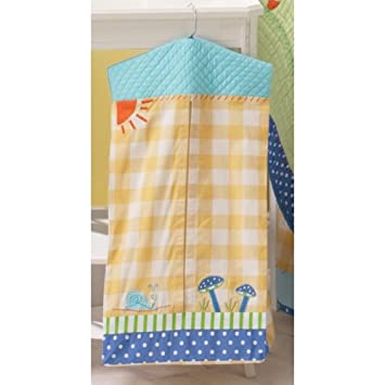 Amazon.com : Sumersault Slow Pokes Diaper Stacker (Discontinued by Manufacturer) : Baby