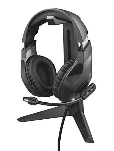 Trust GXT 260 - Cendor Soporte universal para auriculares gaming, negro