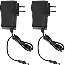 SmoTecQ CCTV 12V 1A Switching Power Supply Adapter 2 Pack, 100-240V AC to 12V DC 1Amp (1000mA) Charger Cord For Security Dome/Bullet Camera and Many Other Common Electronic Components Wall Plug