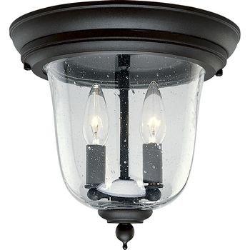 (Progress Lighting P5562-31 3-Light Ashmore Hanging Lantern in Cast Aluminum, Textured Black )
