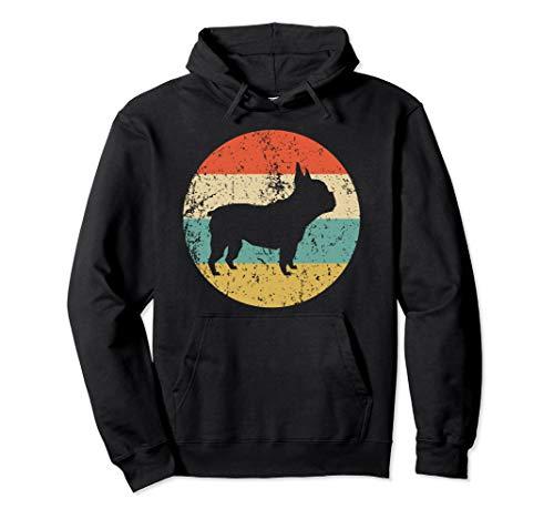 French Bulldog Hoodie - Retro French Bulldog Dog - Bulldog French Sweatshirt Adult