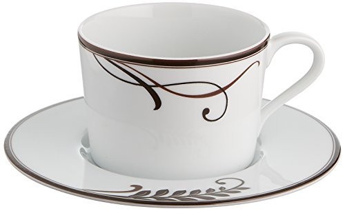 - Mikasa Cocoa Blossom Teacup And Saucer
