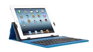 iHome Type Series: Type Slim Bluetooth Keyboard Case for iPad 2/3/4, Blue
