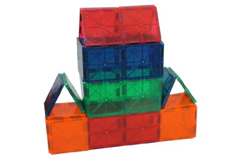 Magnetic Stick N Stack 30 pieces JUST 3×3 SQUARES, Baby & Kids Zone