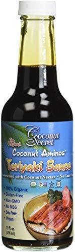 - Coconut Secret Aminos Teriyaki Sauce, 10 Ounce
