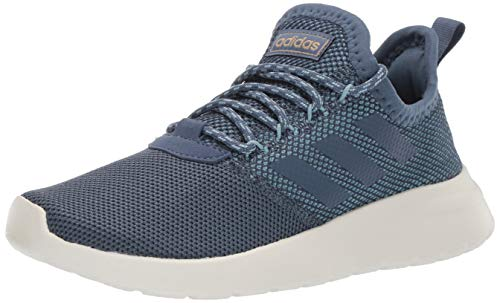 (adidas Women's Lite Racer Reborn, ash Grey/tech Ink/raw Sand, 5 M US)
