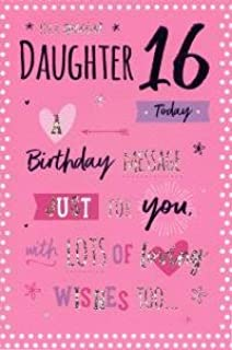Special Daughter 16th Birthday Card