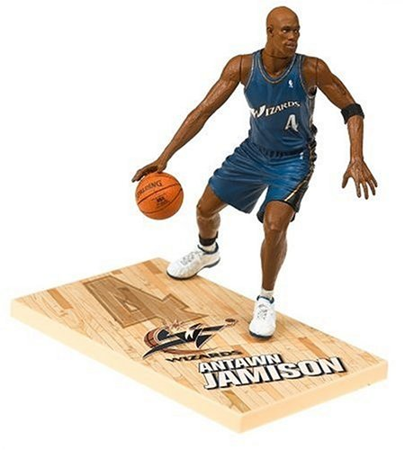 NBA Series 9: Washington Wizards #4 Antawn Jamison - Blue Jersey