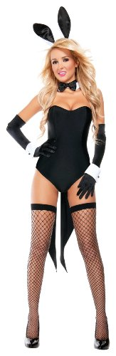 Sexy Bunny Halloween Costumes - SStarline Women's Naughty Nights Bunny Sexy