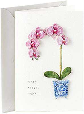 Hallmark Signature Birthday Card For Her Orchid