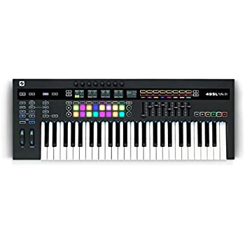 Novation 49SL MkIII, MIDI and CV Equipped Keyboard Controller with 8 Track Sequencer