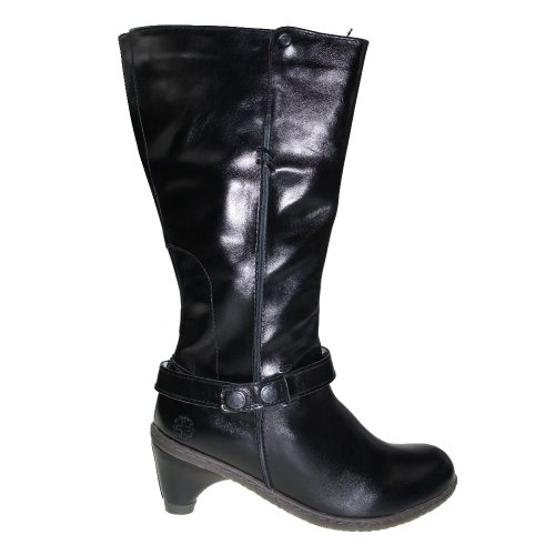 Dr. Dr. Martens Damenschuhe - Jenna Mid Boot Black, Größe:37 Martens Damenschuhe - Jenna Meados Bota Preta, Tamanho: 37