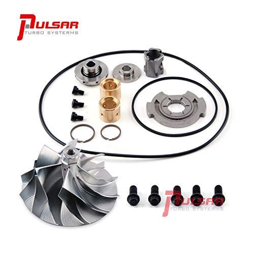 - Pulsar Turbo Billet Compressor Wheel + Rebuild Kit Repair Kit Service Kit for 03-04 6.0 Powerstroke GT3782VA Turbo