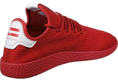 adidas PW Tennis hu, Zapatillas de Deporte Unisex Adulto Rojo (Escarl/Escarl/Ftwbla)